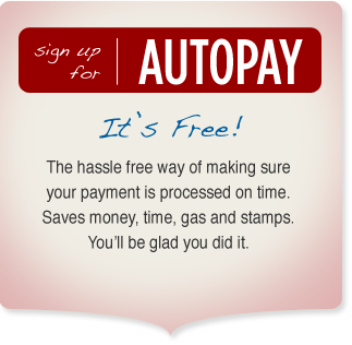 signup for autopay
